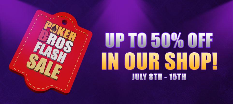 PokerBROS flash sale