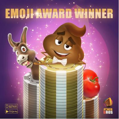 Pemenang penghargaan Emoji PokerBROS