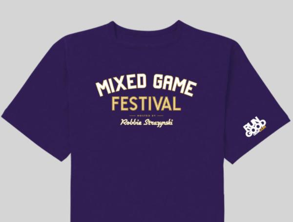 t shirt mixed games